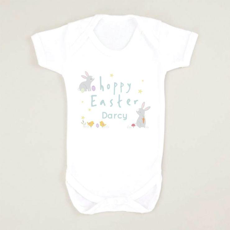Personalised 'Hoppy Easter' Bodysuit