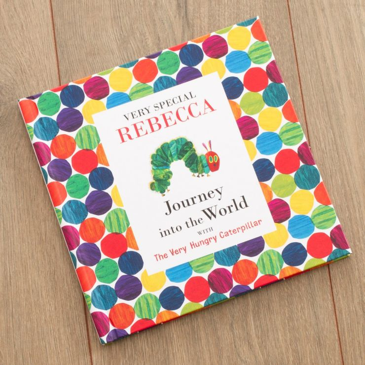 Personalised The Hungry Caterpillar Journey Into The World Book