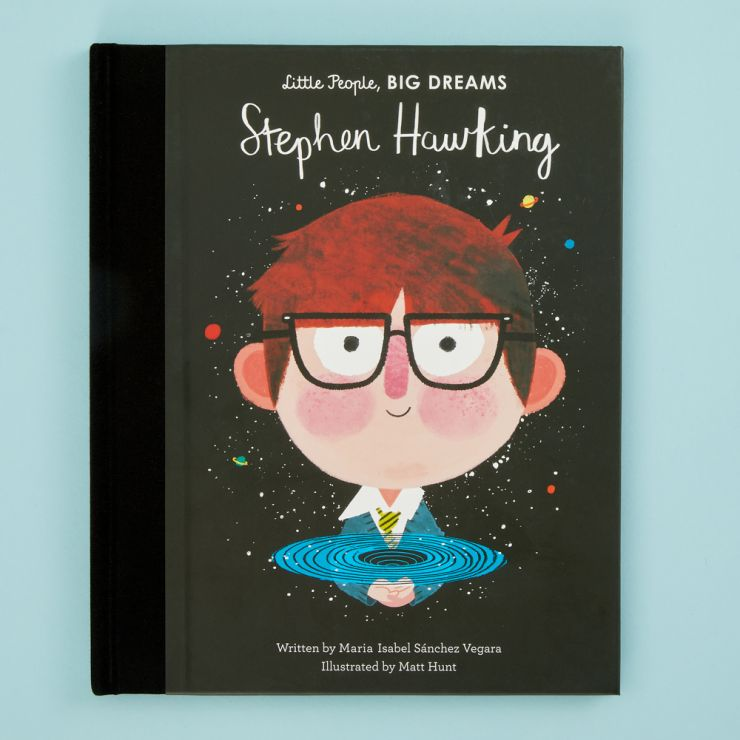 Personalised Little People, Big Dreams Stephen Hawking Book