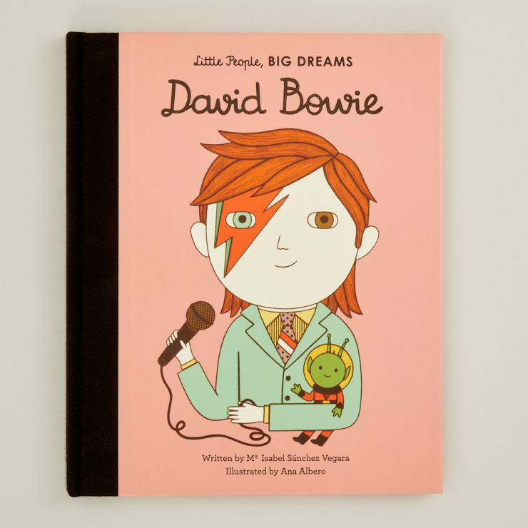 Personalised Little People, Big Dreams David Bowie Book