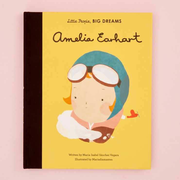 Personalised Little People, Big Dreams Amelia Earhart Book