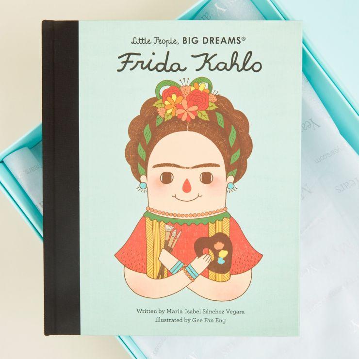 Personalised Little People, Big Dreams Frida Kahlo Book