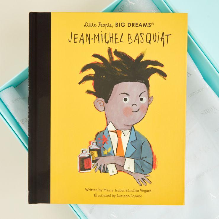 Personalised Little People, Big Dreams Jean-Michel Basquiat Book