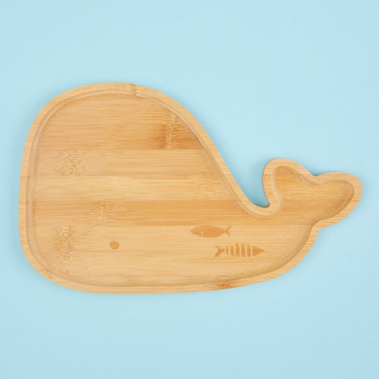 Whale Bamboo Plate