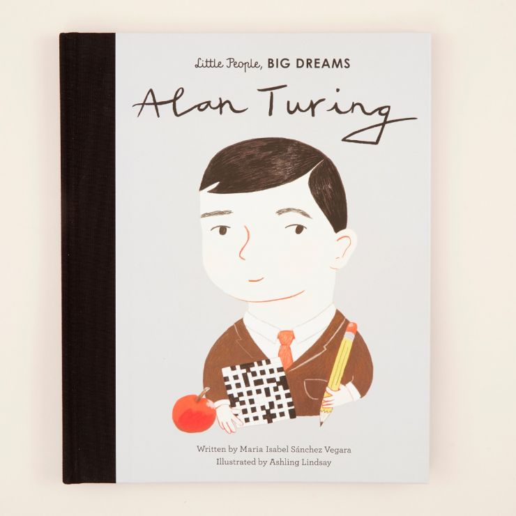 Personalised Little People, Big Dreams Alan Turing Book