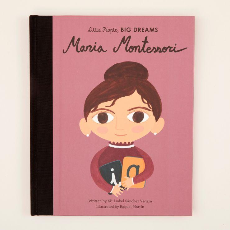 Personalised Little People, Big Dreams Maria Montessori Book