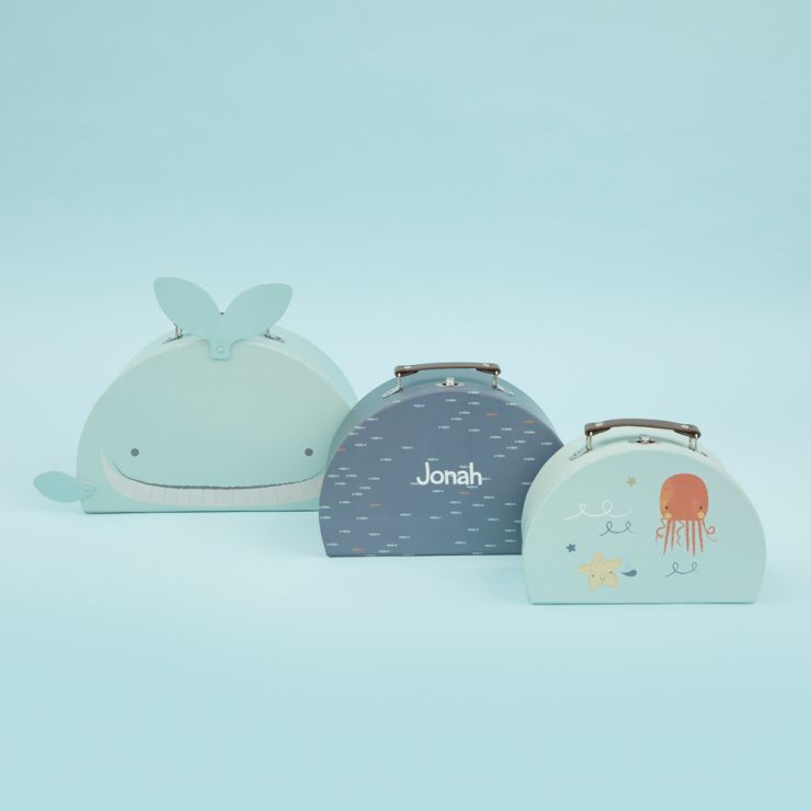 Personalised Under The Sea Storage Trunks