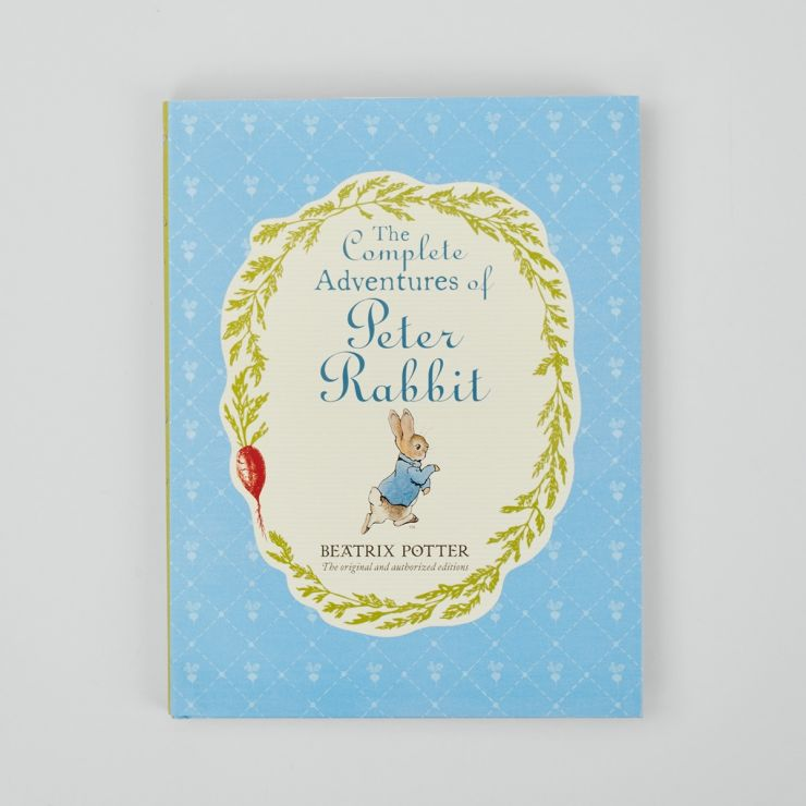 Personalised The Complete Adventures of Peter Rabbit Hardback Book