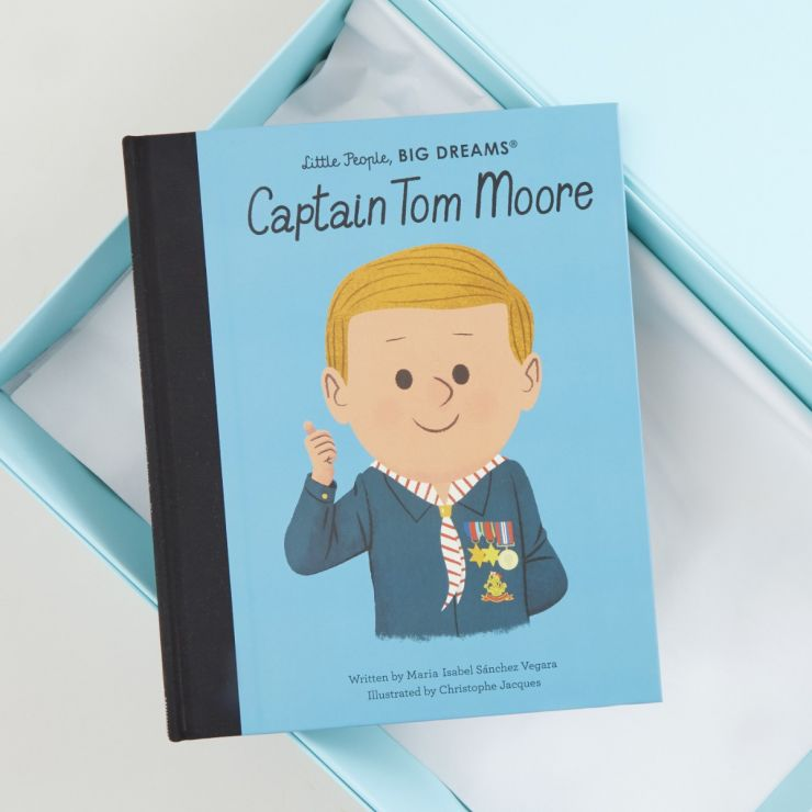 Personalised Little People, Big Dreams Captain Tom Moore Book