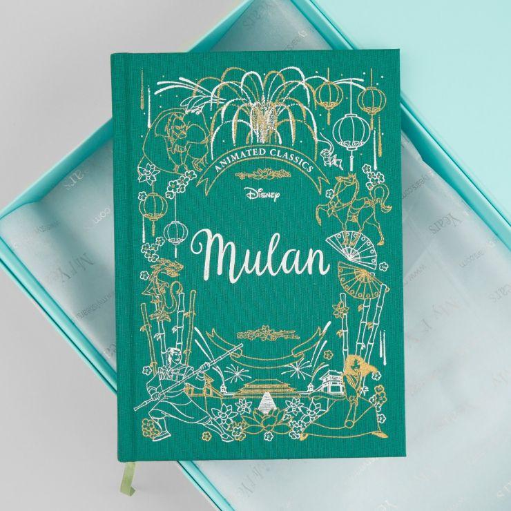 Disney Animated Classics Mulan Book