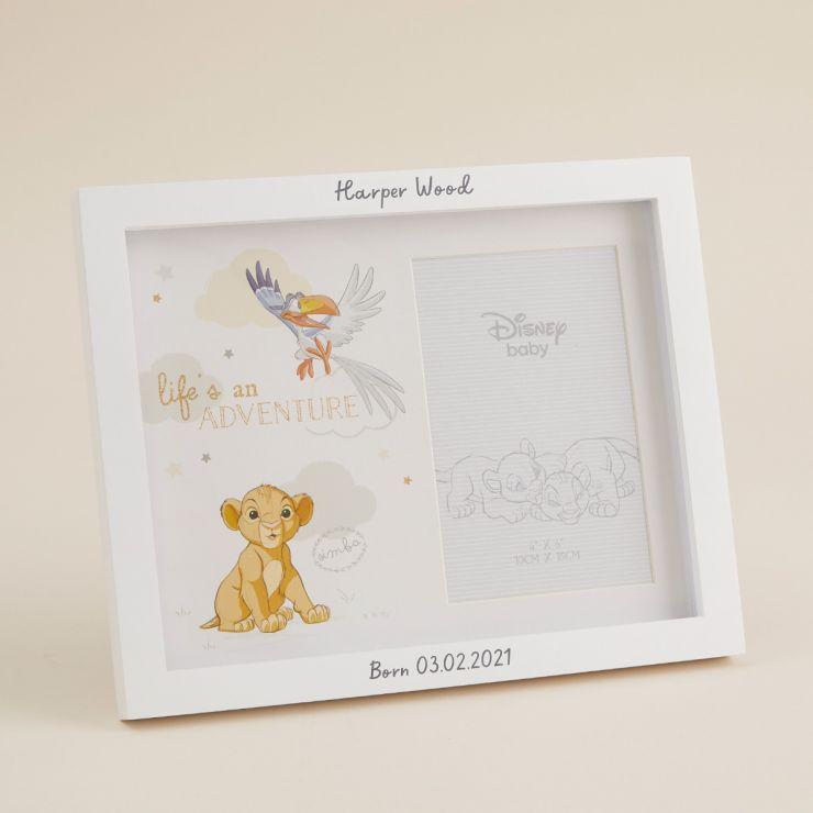 Personalised Disney Lion King Photo Frame