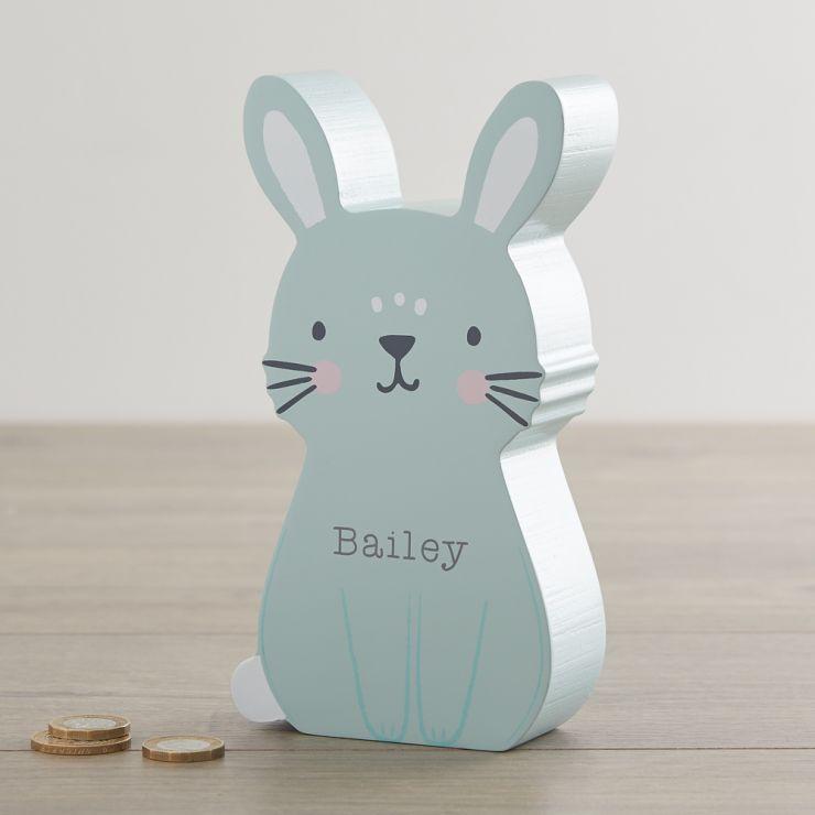 Personalized Bunny Money Box