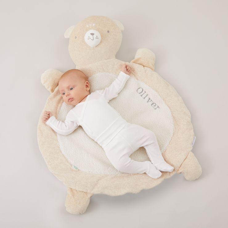 Personalised Cream Bear Playmat Model