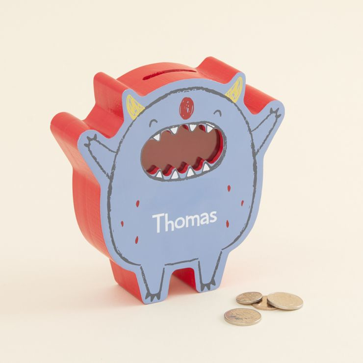 Personalised Monster Money Box