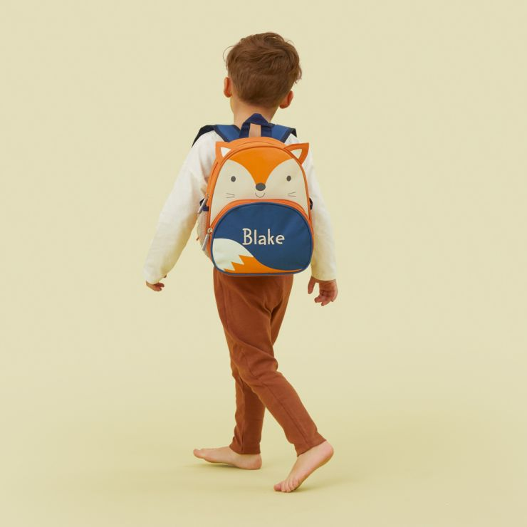 Personalised Fox Mini Backpack Model
