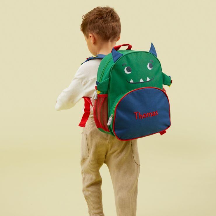 Personalized Monster Infant Backpack Model