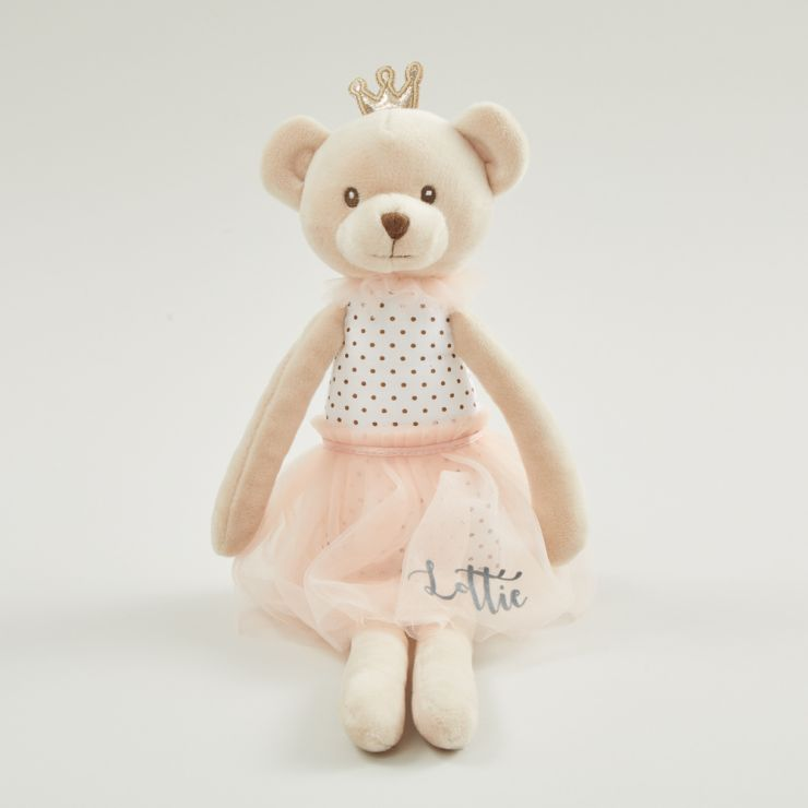 Personalized Princess Bear Soft Doll