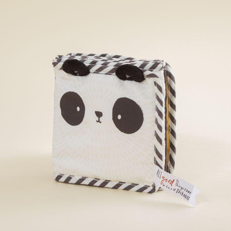 Personalized Panda Design Baby Activity Book