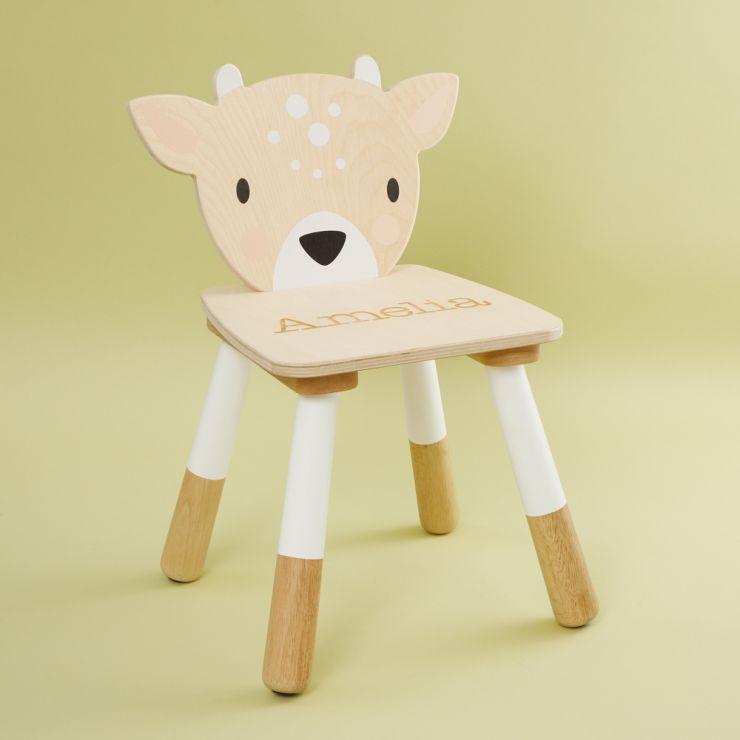 Personalised Deer Design Children's Chair