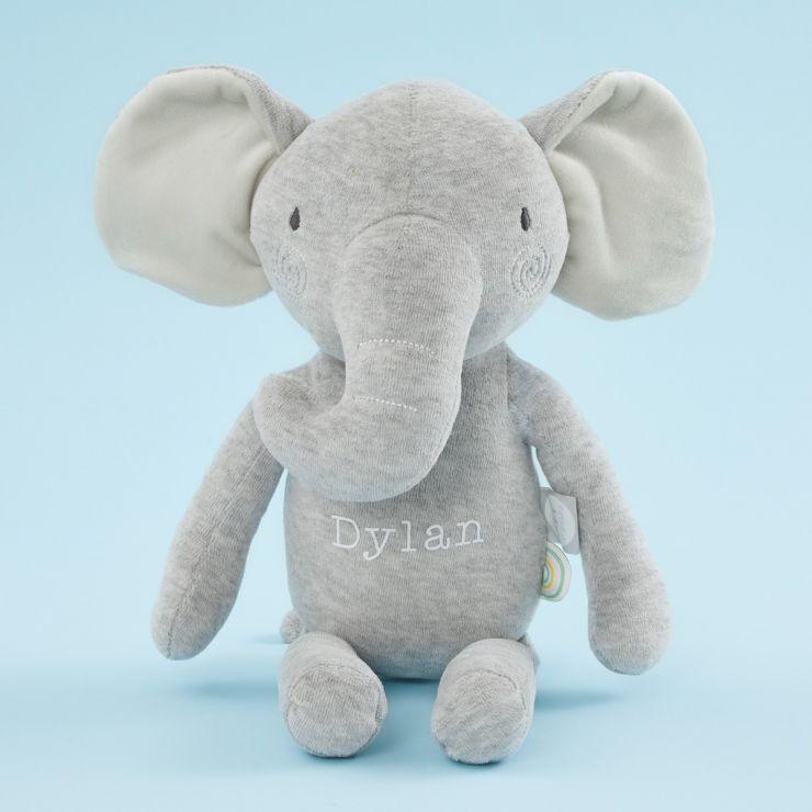 Personalised Plush Little Elephant Soft Toy