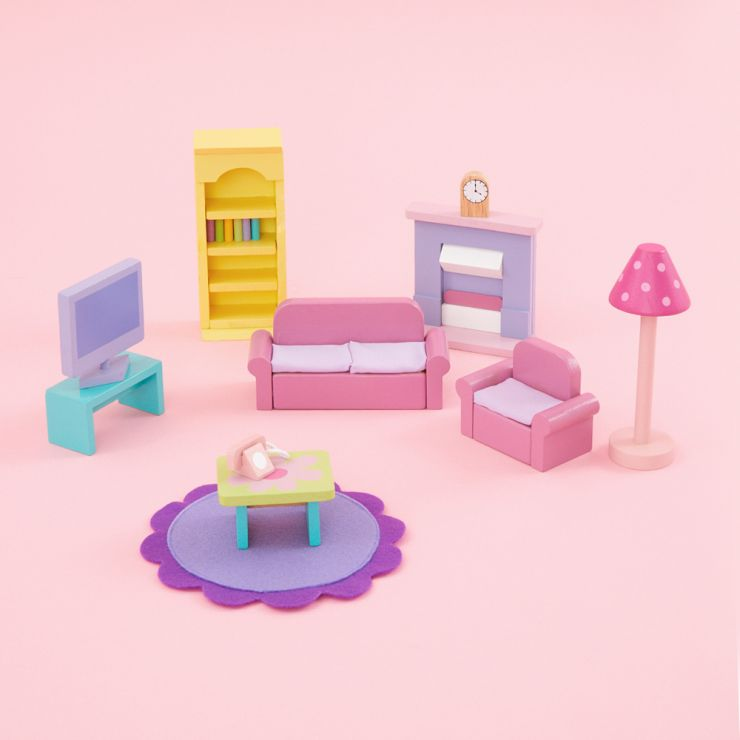 Le Toy Van Sugar Plum Sitting Room Set