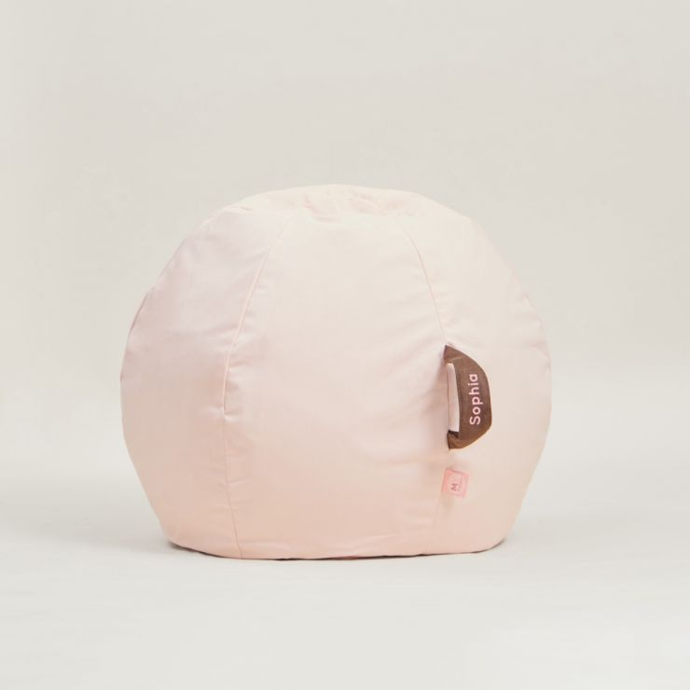 Personalised Pink Bean Bag