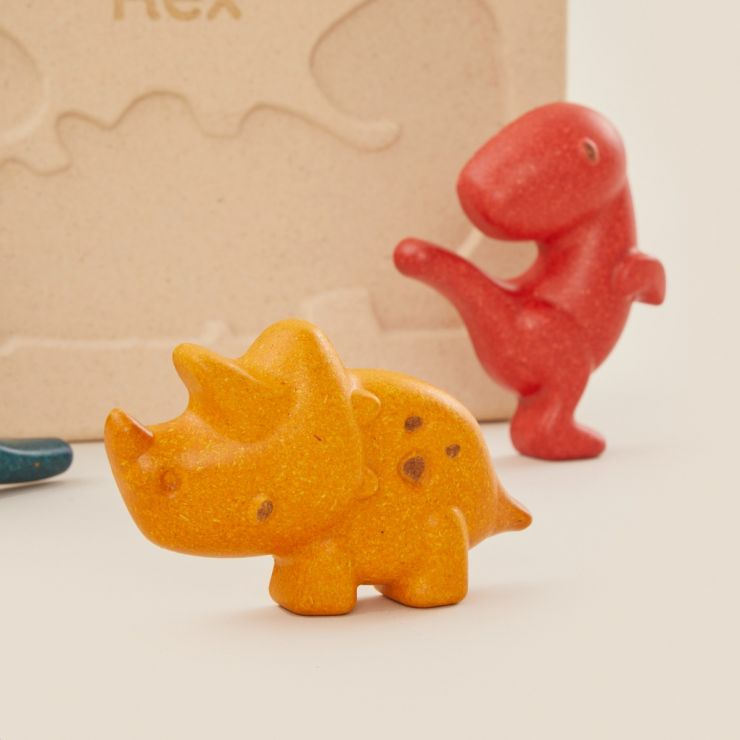 Personalised Plan Toys Dino Puzzle