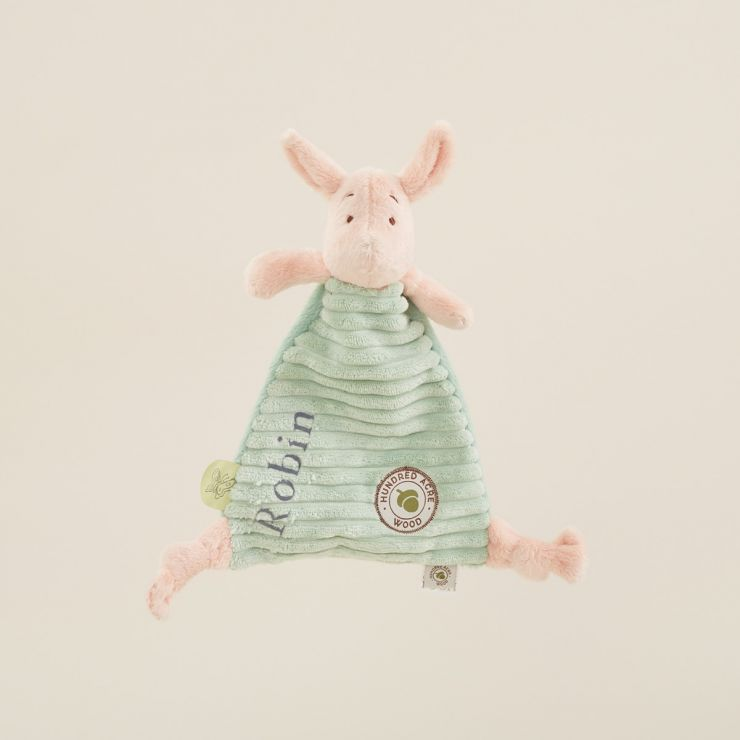 Personalised Classic Piglet Baby Comforter