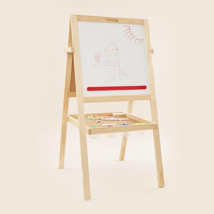 Personalised BigJigs Children's Wooden Art Easel