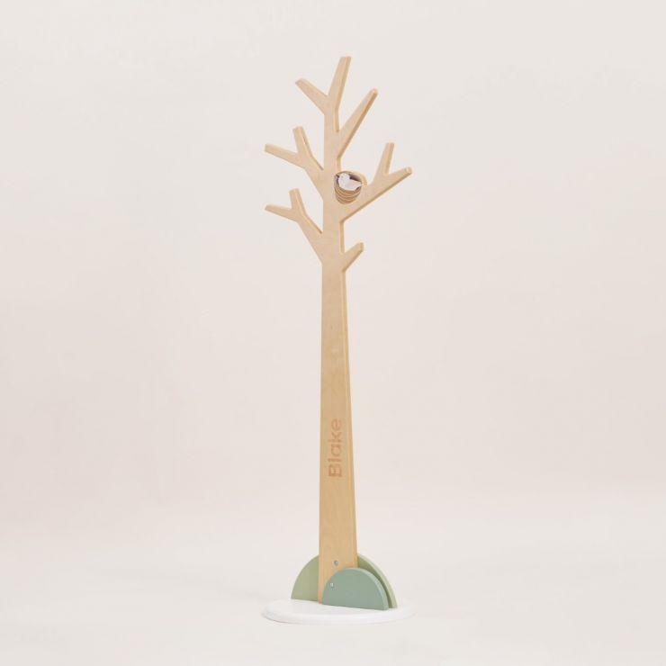 Personalised Tenderleaf Wooden Tree Coat Stand