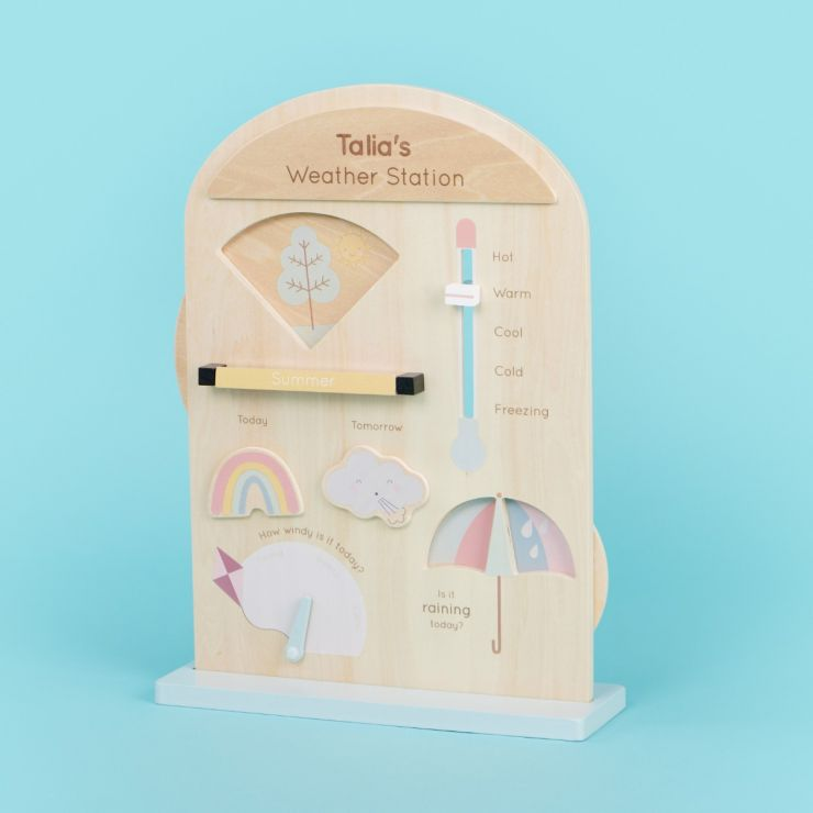 Personalised Wooden Weatherboard Play Set