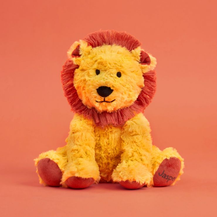 Personalised Little Lion Soft Toy