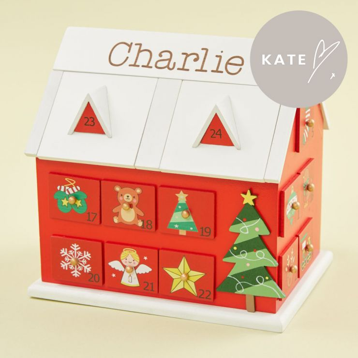 Personalised Advent Calendar House
