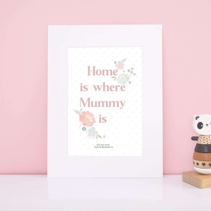 Personalised Mother's Day Wall Art