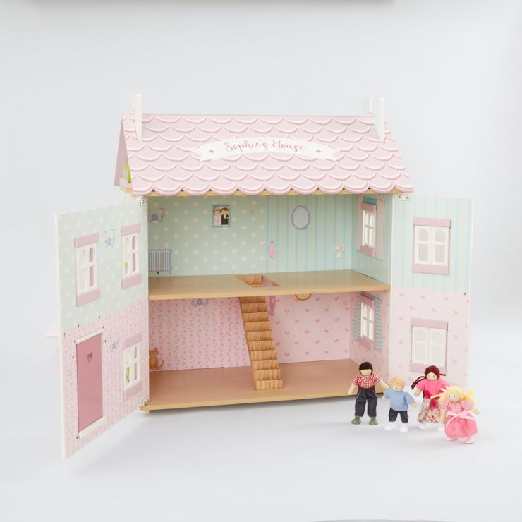 Personalised Le Toy Van Sophie's Doll House Starter Set