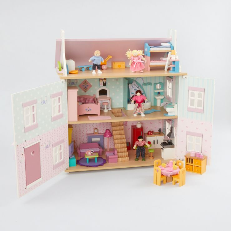 Personalised Le Toy Van Sophie's Ultimate Doll's House Set