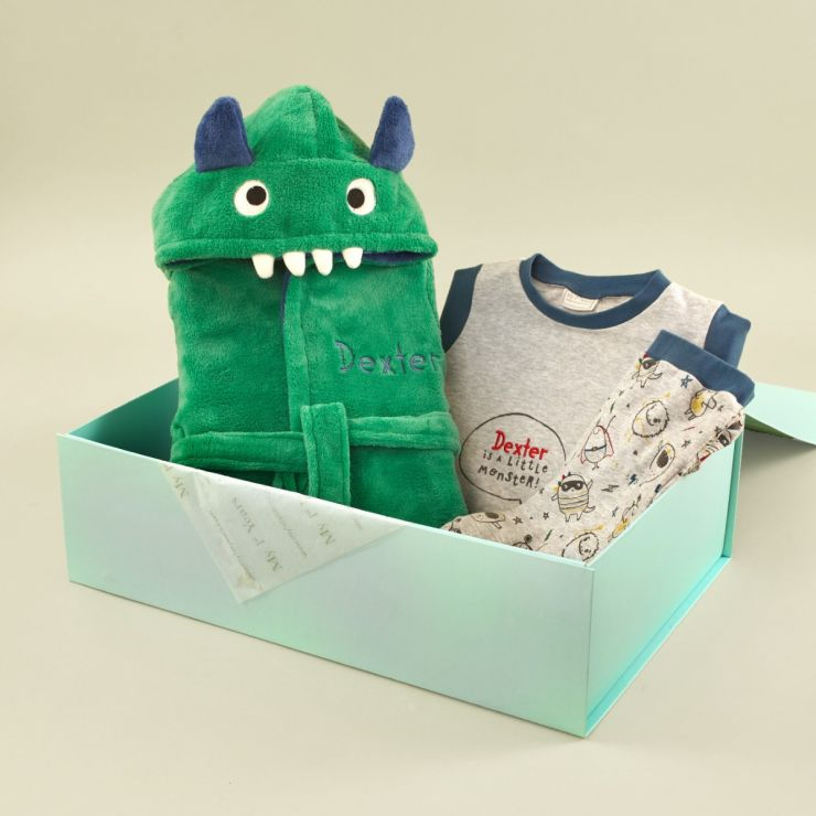 Personalised Little Monster Sweet Dreams Gift Set