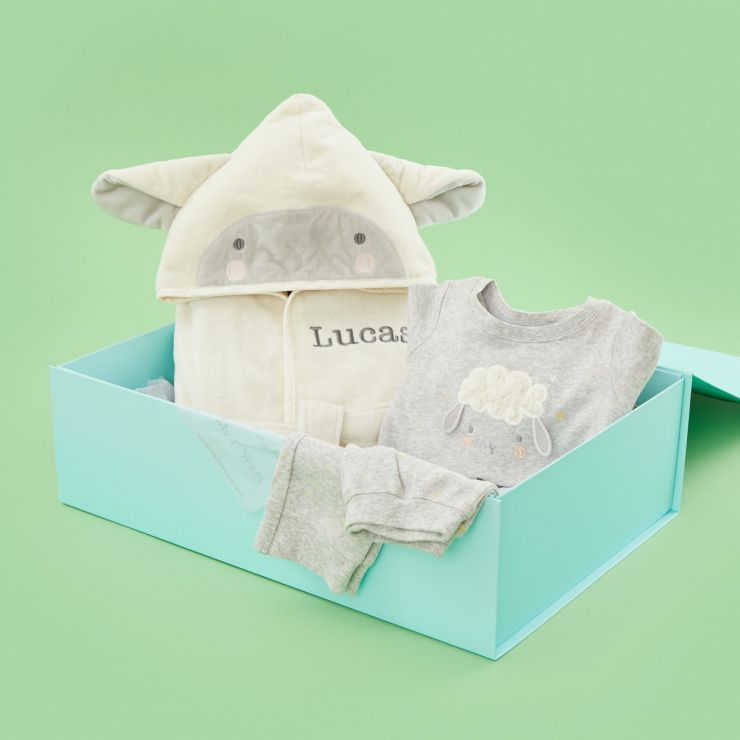 Personalised Little Lamb Sweet Dreams Gift Set
