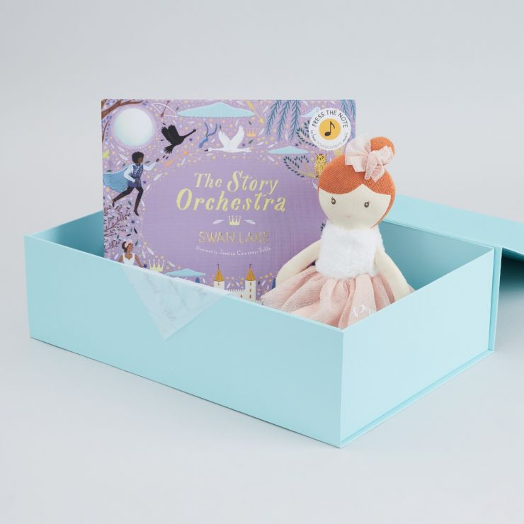 Personalised The Story Orchestra Swan Lake Book and Soft Doll Gift Set