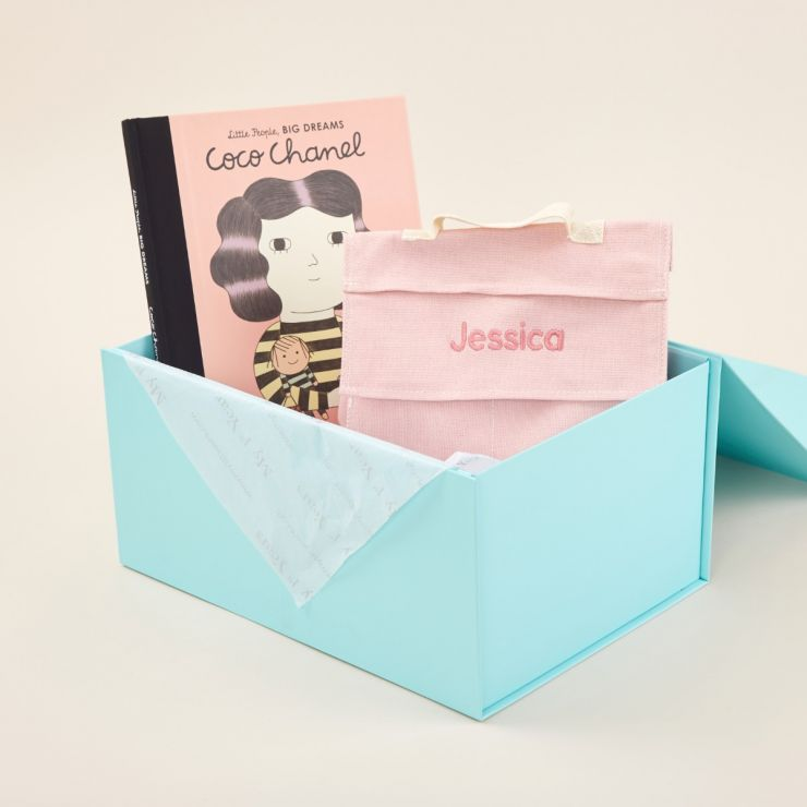 Personalised Little Fashionista Read & Play Gift Set