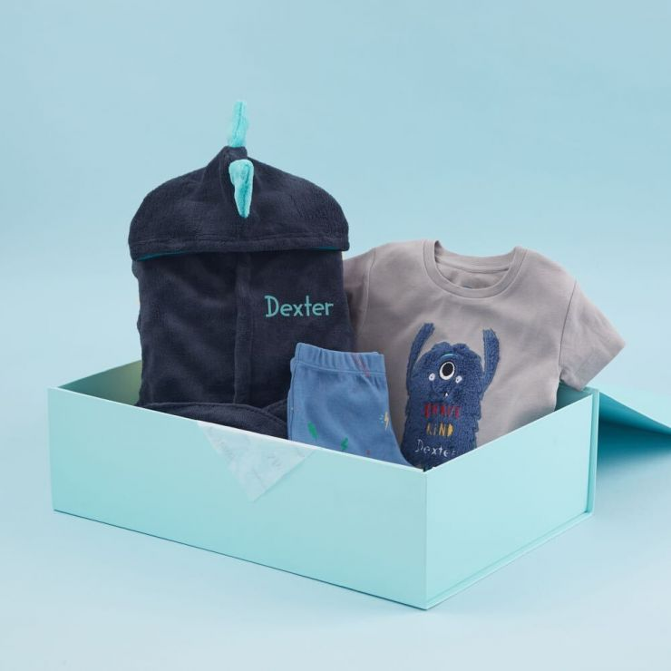 Personalised Little Monster Design Sweet Dreams Gift Set
