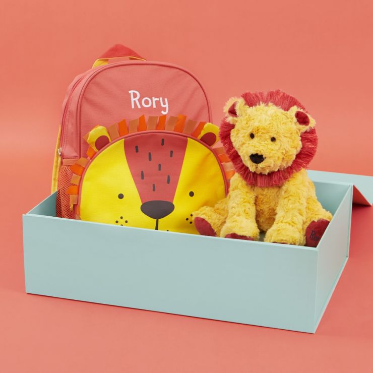 Personalised Little Lion's Day Out Gift Set