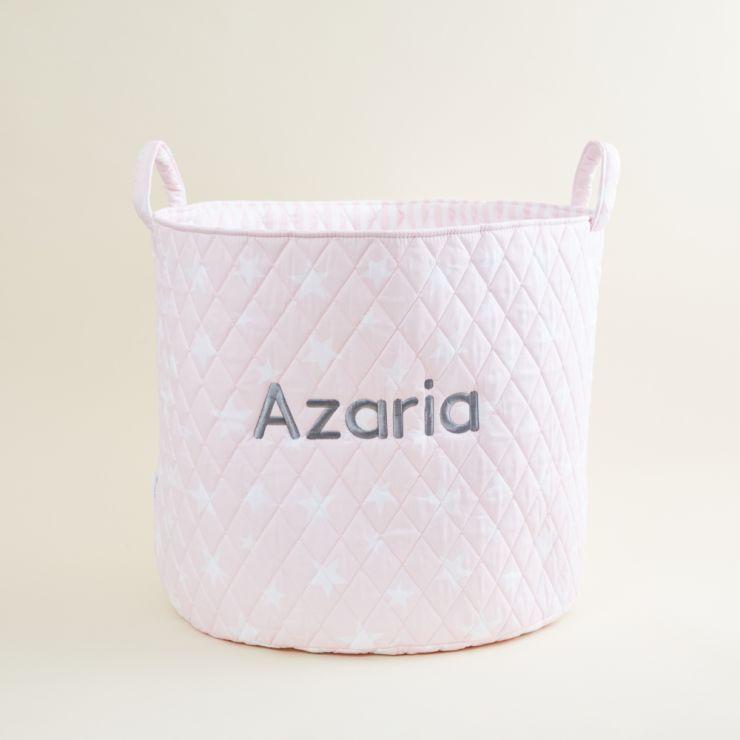 Large Pink Star Storage Bag