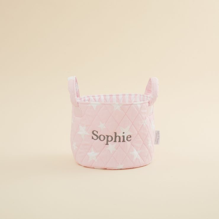 Mini Pink Star Storage Bag