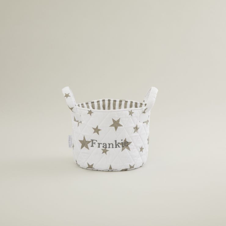 Mini White Star Storage Bag