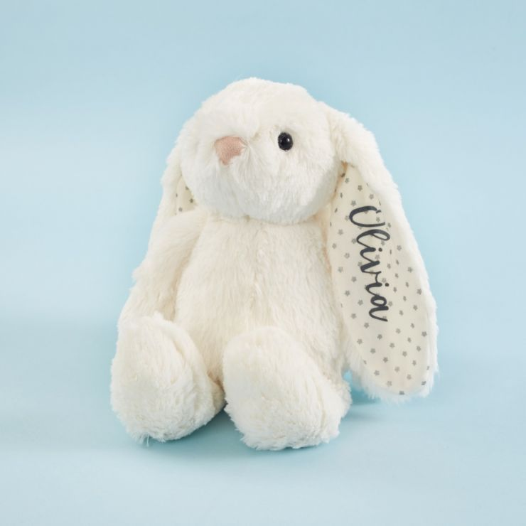 Personalised Ivory Bunny Soft Toy