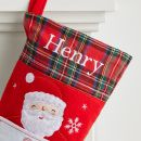 Personalised Small Fleece Letter to Santa Stocking - Personalisation