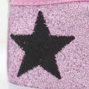 Pink Glitter High Tops (0-6 months)