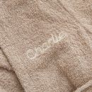 Personalised Lion Towelling Robe Personalisation