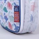 Personalised Colourful Dinosaur Print Lunch Bag